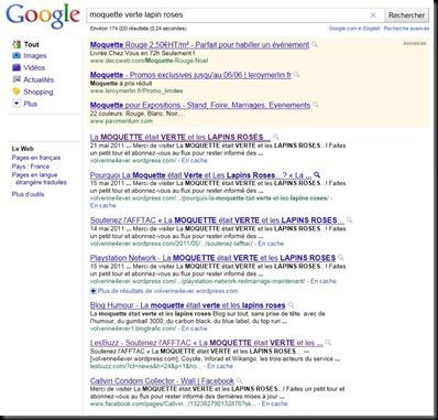 google moquette