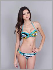 Ladies Evil Dead Bandeau Bikini Web