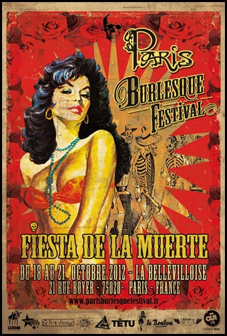 Paris Burlesque Festival 2012